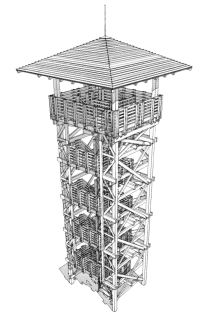 """""""Láz-tető"""" Lookout Tower"""