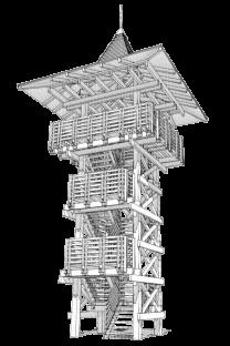 """""""Bél Mátyás"""" Lookout Tower"""